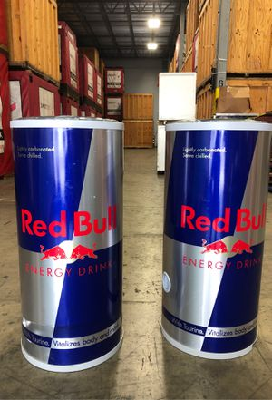 Red Bull Rolling Coolers for Sale in Hialeah, FL