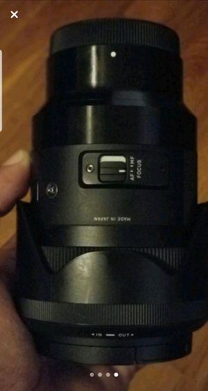 Sigma emount 35mm 1.4 Art for Sale in Washington, DC