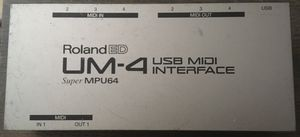 Roland ED Super MPU64 UM-4 USB MIDI Interface for Sale in San Diego, CA
