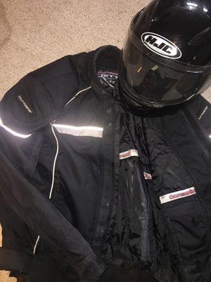HJC Helmet & Tourmaster Jett for Sale in Tacoma, WA