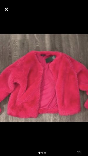 Vibrant Hot Pink Accent Coat for Sale in Lynn, MA