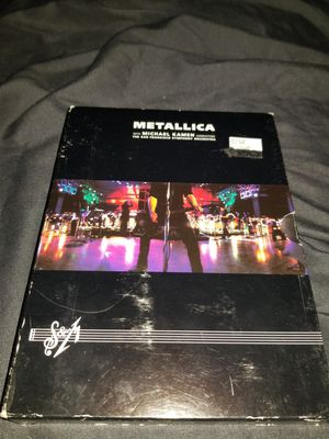 Metallica San Francisco Symphony orchestra for Sale in Pasadena, CA