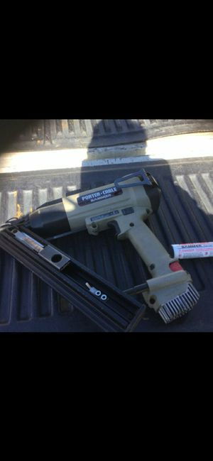 Porter cable fuel nail gun for Sale in San Jose, CA