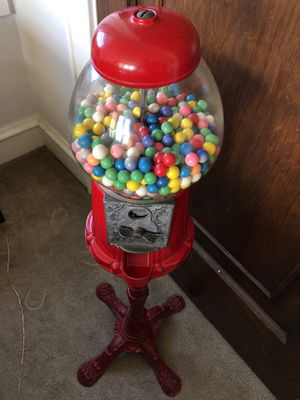 Vintage Gumball Machine w Bank Stand for Sale in Pittsburgh, PA