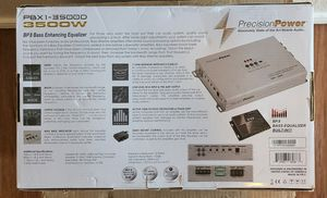 PRECISION POWER PBX1-3500D MONOBLOCK 3500W CAR SUB AMP built in epicenter & equ for Sale in Corona, CA
