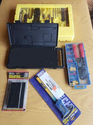 Soldering iron tool kit, Wire Terminal Kit with Crimper, Digital Caliper, Digital Multimeter, Avometer for Sale in Dearborn, MI