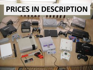 Video Games System Console Super Nintendo NES 64 Dreamcast Xbox 360 etc. for Sale in Lake Wales, FL