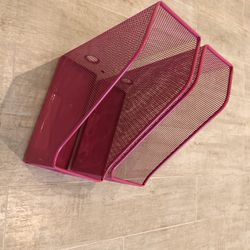 File/Book/Folder/Magazine/Paper Organizer Set Of 2 for Sale in Miami,  FL