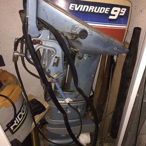 9.9 Evinrude -Long Shaft Outboard Motor for Sale in Andover, MA
