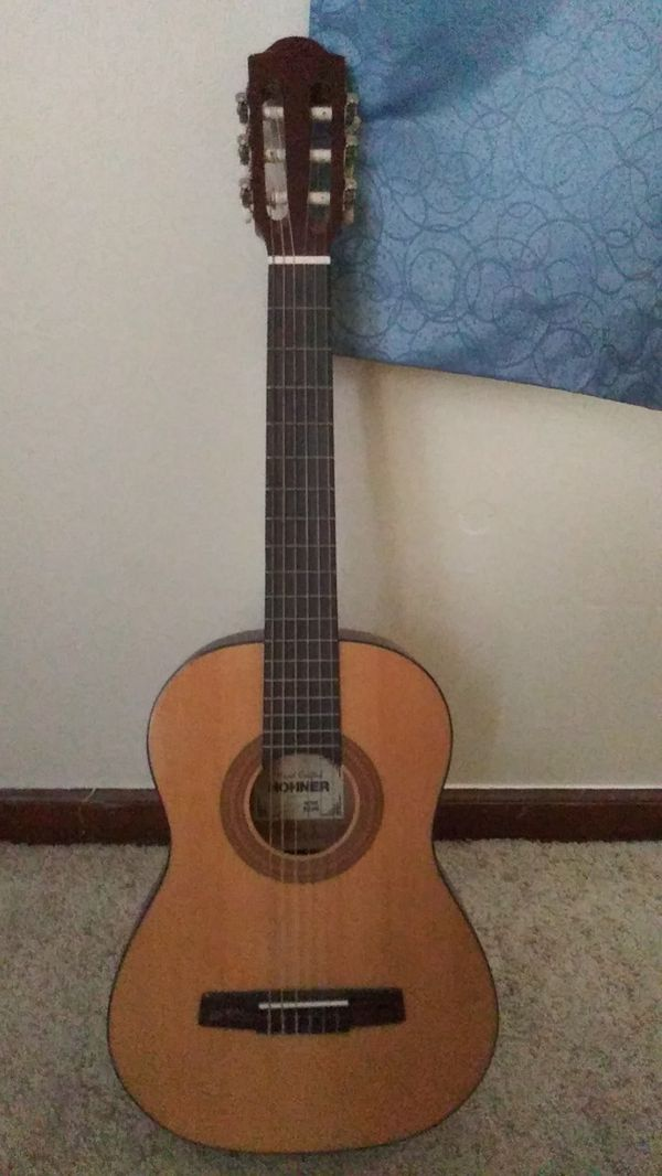 Acoustic guitar with nylon strings