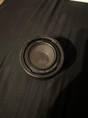 Canon 50 mm lenses for Sale in Everett, WA