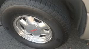 GMC wheels, RIms and Tires good condition for Sale in Concord, CA