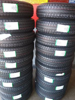 St 225/75/15 Set of brand new trailer tires 10 Ply for Sale in Phoenix, AZ