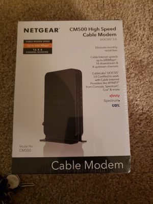 Cable Modem brand New for Sale in Des Plaines, IL