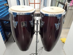 11- 12 LP congas with stand nice conditions for Sale in Lake Worth, FL