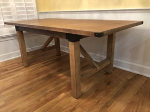 Wood Kitchen Table (Chairs Not Included) for Sale in Murfreesboro, TN