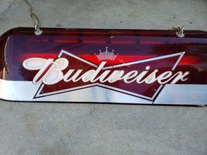 Budweiser hanging lamp for Sale in Lake Elsinore, CA