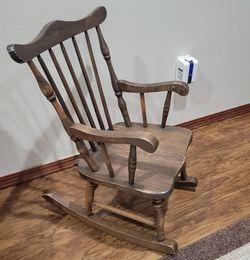 Like New Wood Kids Rocker Chair for Sale in Marysville,  WA