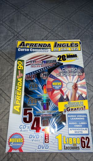 Learn English USA Professor DVD for Sale in Keizer, OR