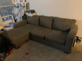 Small Sectional Couch (Dark Charcoal Gray) for Sale in Hendersonville,  TN