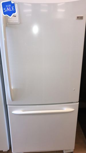 NO CREDIT!! GE CONTACT TODAY! Refrigerator Fridge Bottom Freezer #1474 for Sale in Pasadena, MD