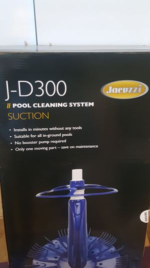 **New**Jacuzzi J-D300 Pool Cleaner for Sale in Manteca, CA