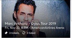 Marc Anthony Concert tickets for Sale in Miami, FL