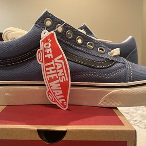 Vans Old Skool Blue And Black for Sale in Chino Hills, CA