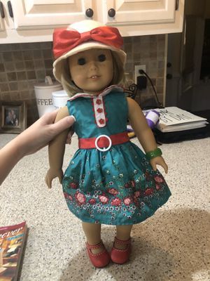 """American Girl Doll """"Kit"""" with book, hat and bag for Sale in Virginia Beach, VA"""