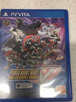 Super Robot Wars V (English Subs) for PlayStation Vita [PS Vita] for Sale in Seattle,  WA