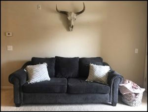 Grey comfy couch! for Sale in Knightdale, NC