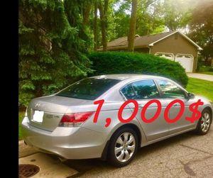 P,e,rfectlyyShape 2008 Honda Accord EXL FWDWheels,-CoolCl,eanTitle, for Sale in Houston, TX