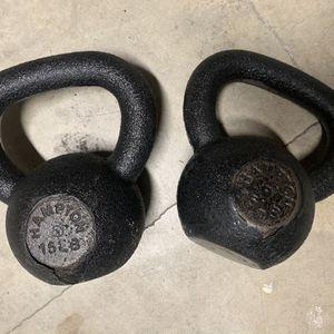 Hampton Kettlebells Weight Set 15lbs Iron Made In USA for Sale in Auburn, WA