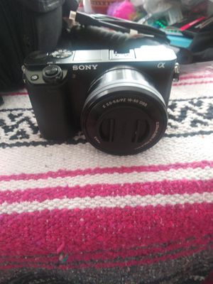 Sony Alpha 6000 mirrorless camera with 16-55mm and 50-210mm lenses bundle for Sale in Kennesaw, GA