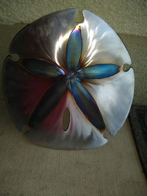 BRAND NEW SOLID METAL SANDDOLLAR WALL DECOR for Sale in Tulare, CA