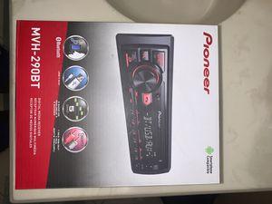 Pioneer MVH-290BT digits media receiver for Sale in Tamarac, FL
