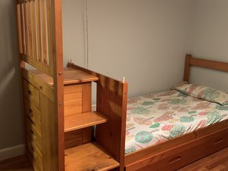 Bunk Bed With Storage/Trundle Unit for Sale in Chelsea,  MA