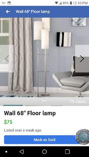 "NIB 68"" Wall floor lamp for Sale in Hilliard, OH"