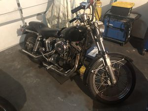1973 Harley Davidson sportster motorcycle for Sale in Stony Brook, NY