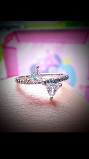 925 Solid SiLveR BoW DiaMoNd RiNg for Sale in Bountiful, UT