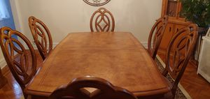 Thomasville Pedestal Oak Dining Room Table-Pick up Only for Sale in Queens, NY