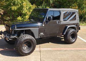 2006 Jeep Wrangler tj unlimited for Sale in Arlington, TX