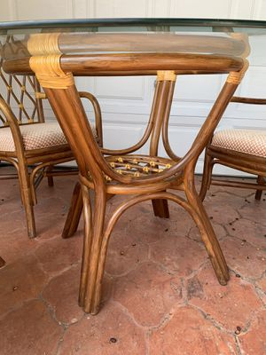 Rattan table and chairs for Sale in Dana Point, CA