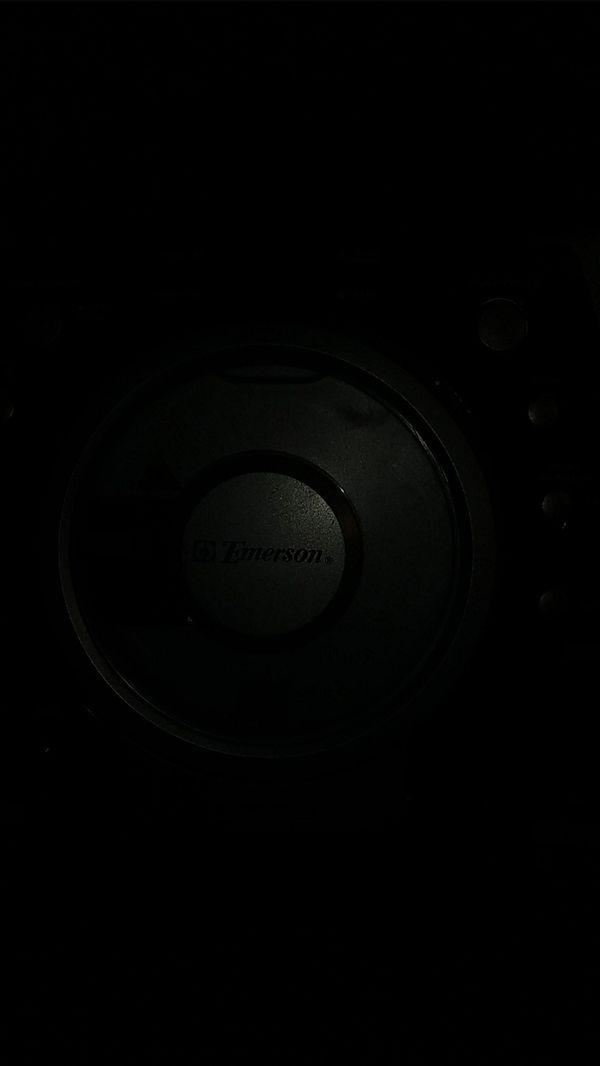 Emerson cd player radio etc