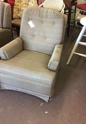 2 Lazy boy recliners ,swivel, polished cotton fabric$200 for both for Sale in Avon Park, FL