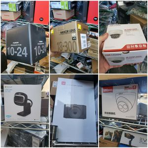 Nikon Fujifilm Lens Microsoft Lifetime Security Camera Dashcam for Sale in Tehachapi, CA