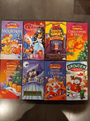Christmas time VHS Tapes for Sale in Clovis, CA