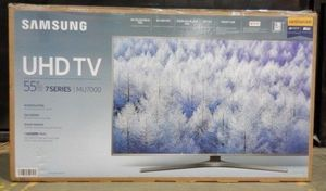 "55"" SAMSUNG UN55MU7000 4K UHD HDR LED SMART TV 120HZ 2160P (FREE DELIVERY) for Sale in Tacoma, WA"