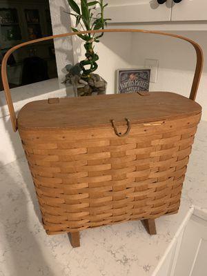 Longaberger basket for Sale in Sacramento, CA