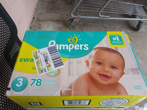 Pampers Diapers size 3 for Sale in Fort Lauderdale, FL